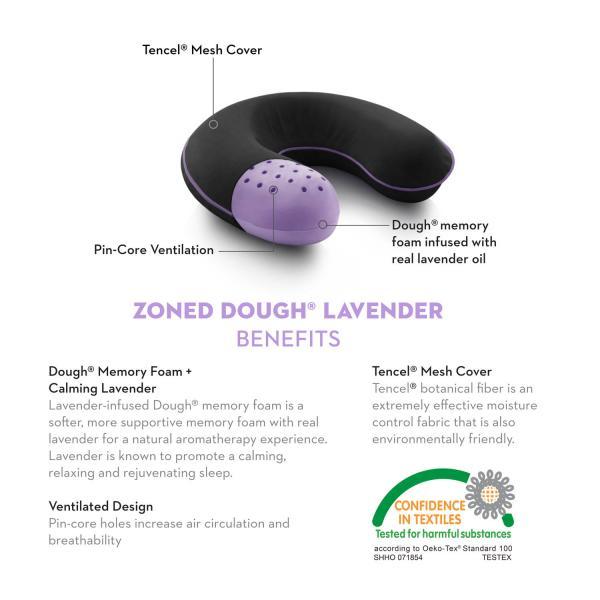 Travel Neck Zoned Dough® Lavender
