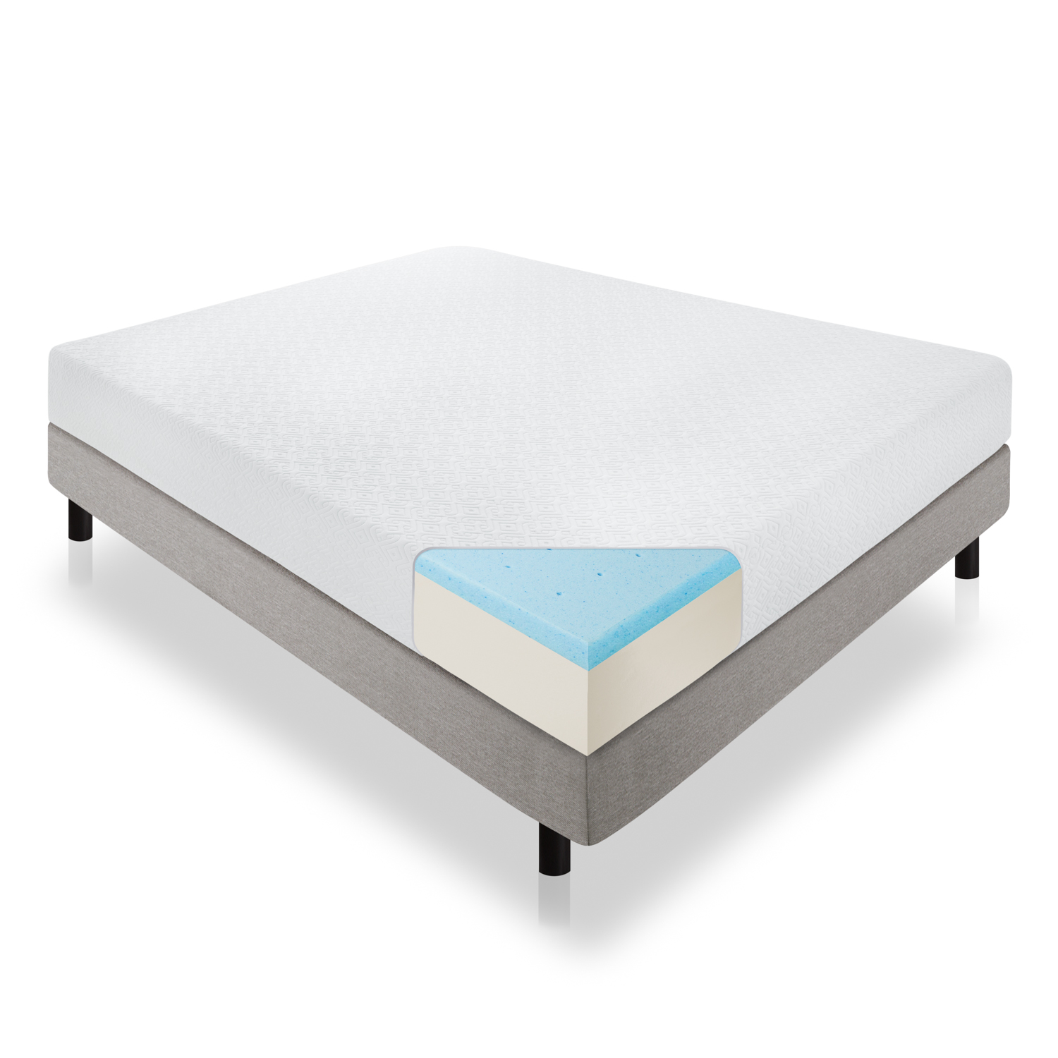 Lucid 6 8 10 12 inch Gel Memory Foam Mattress></p> <h4>Shipping</h4> <p><b>FREE SHIPPING</b> to the continental U.S.</p> <p></p> <h4>Payment</h4> <p>Only Paypal payments are accepted at this time, however you may utilize tools within Paypal to pay via your credit cards. The fund would eventually have to come from Paypal. Only paid items will be shipped.</p> <p></p> <h4>Returns</h4> <p>Returns accepted within 30 business days for unused, unwashed items that are still in original packaging.</p> <p></p> <h4>Warranty</h4> <p>10 year limited warranty guarantees that your LUCID mattress will be replaced, repaired or refunded at our discretion if it is deemed defective due to faulty workmanship or structural defects.</p> </div> <div class=