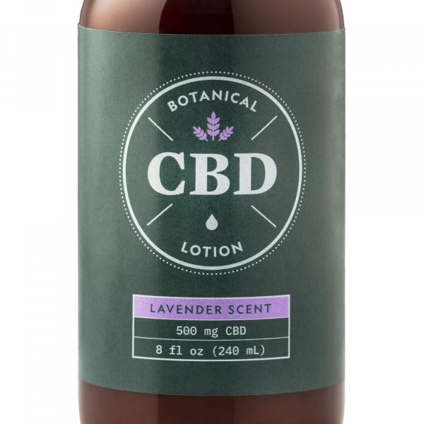 Botanical CBD Lotion