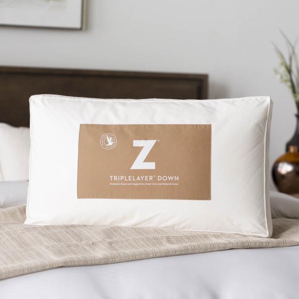 Z™ TripleLayer™ Down Pillow